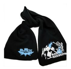 Relaxcos Black Rock Shooter Cashmere Scarf Cosplay Costume >>> Visit the image link more details.