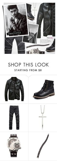 """man's fashion(newchic 10)"" by meyli-meyli ❤ liked on Polyvore featuring Therapy, men's fashion, menswear, MensFashion, mensstyle and newchic"