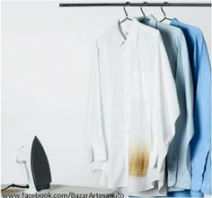 How to Get Rid of Tough Stains with Vinegar: Iron Scorch Marks How To Get Rid, How To Remove, Chris Mason, Homemaking, Clean House, Housekeeping, Cleaning Hacks, Cleaning Products, Vinegar