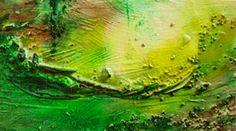 #ImtiefenSee, #Aquarell auf #Holz mit #Materialcollage, 2006, #gestrohlen wer weiß, wo sich dieses Bild befindet, es wurde im #Darmstädter #Kunstzelt gestohlen.