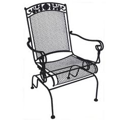 Garden Treasures Davenport 30 In X 30 In Black Wrought