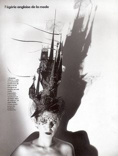 Isabella blow #Hats  #millinery #black