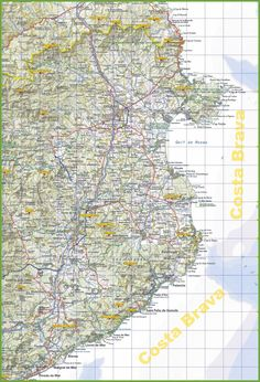 Pescara tourist map Maps Pinterest Tourist map