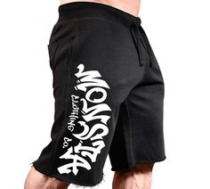New Men/'s Monsta Clothing Fitness Gym Sweatpants King Kong