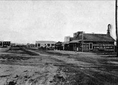 Downtown Stanton, California, 1913