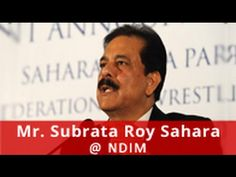 NDIM: 15th Annual Convocation, Chief Guest, Shri Subrata Roy Sahara Managing Worker & Chairman, Sahara India Pariwar   #Mba #corporate #events #ndim #mbaindelhi #mbacollegeinindia