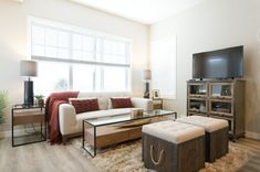 Jade townhomes have such a modern look to them, they are perfect for your first home. New Community, First Home, Be Perfect, Townhouse, Jade, Modern Design, Living Room, Home Decor, Homemade Home Decor