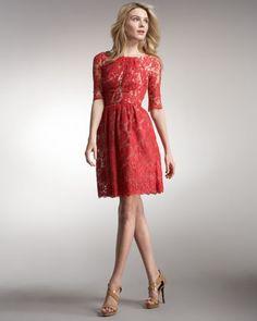 7def999ff11b Margot Lace Dance Dress by Erdem at Neiman Marcus. Erdem