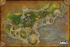 Dread wastes windwool cloth farming route world of warcraft game world map google gumiabroncs Gallery