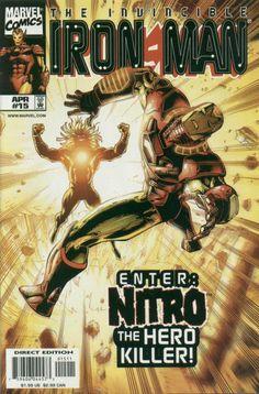 Iron Man Vol. 3 # 15 by Sean Chen