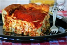 Sweet Home Chicago-Style Deep Dish Pizza