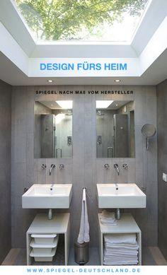 Amazing  Spiegel nach Ma vom Hersteller Design f rs Heim http