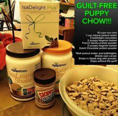 Guilt Free Puppy Chow - run out of IsaDelights..click  on photo to get yours today.