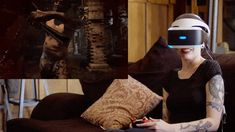 The future looks like a mix of Oculus Rift, Google Glass and 'Vogue.'
