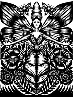 bee goddess love this!!!!! /// I totally love this print!!!