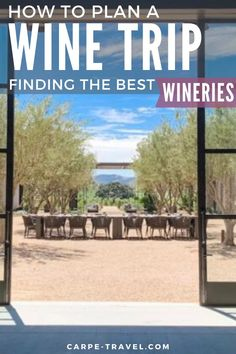 If you're having a hard time narrowing down what wineries to visit during your next wine tasting vacation, we've got some tried and true tips and tricks to help you pick out the best places to visit. Beach Trip, Vacation Trips, Beach Travel, Cool Places To Visit, Places To Travel, Travel Destinations, Wine Tourism, Travel Tips, Budget Travel