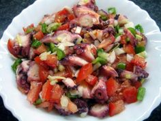 Fiverr freelancer will provide Digital services and teach you how to make Puerto Rican ensalada de pulpo octopus salad within 1 day Seafood Salad, Seafood Dishes, Seafood Recipes, Cooking Recipes, Healthy Recipes, Boricua Recipes, Comida Boricua, Puerto Rican Cuisine, Puerto Rican Recipes