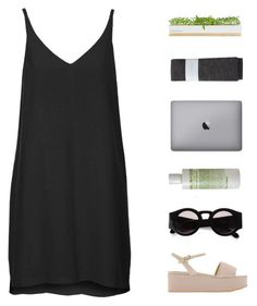 """""""let me get what I want"""" by anastuhec ❤ liked on Polyvore featuring Topshop, Bambeco, Karen Walker, Hansel from Basel, (MALIN+GOETZ) and Pollini"""