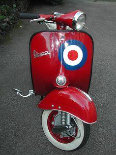 1961 Vespa VNB 125 by Shroperz, via Flickr