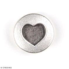 Compra nuestros productos a precios mini Cuenta deslizante Corazón para cinta - 18 mm - Entrega rápida, gratuita a partir de 89 € !