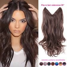 Image result for natural colored hair extensions
