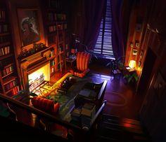 interior_01, Michal Sawtyruk on ArtStation at https://www.artstation.com/artwork/yKa5K