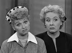 Ahhhh! I Love Lucy!  Lucy & Ethyl:-)