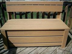 Indoor Storage Bench Seat Plans Shoe Storage Bench Seat, Indoor Storage Bench, Large Storage Bench, Storage Bench With Baskets, Bench With Drawers, Kitchen Storage Bench, Wood Bench Plans, Diy Pallet Furniture, Woodworking Plans