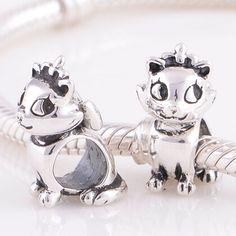 Cheap Lindo encantos del gato del plata oxidada terminado tono adapta para mujeres Lady Giral pulseras del encanto SC71, Compro Calidad Cuentas directamente de los surtidores de China:                   1 unidades Envío Gratis                                       Tamaño charm: 1:1 marc
