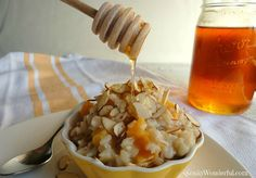 Brown Rice Pudding--I like it creamier so add another can of coconut milk and/or almond milk.