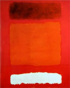 Red, White, and Brown - Mark Rothko