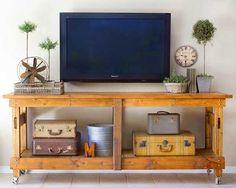 Ideas+para+decorar+la+pared+de+la+televisión.+|+Mil+Ideas+de+Decoración