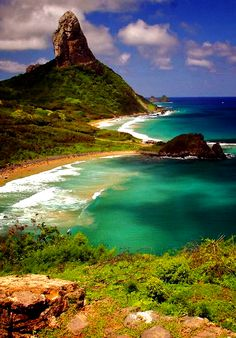 Fernando de Noronha, Brasil - Getting Back To Nature Places Around The World, Oh The Places You'll Go, Places To Travel, Places To Visit, Around The Worlds, Travel Destinations, Dream Vacations, Vacation Spots, Brazil Vacation