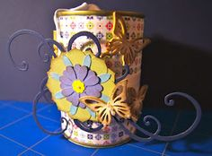 Refilled Can -> Present Box selfmade Boxes, Presents, Mugs, Canning, Tableware, Crafts, Basteln, Gifts, Crates