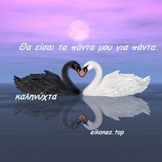 Αληθινά λόγια σε εικόνες για καληνύχτα - eikones top I Still Miss You, Good Morning Good Night, Sweet Dreams, True Love, Quotes To Live By, Words, Greek, Heaven, Stickers
