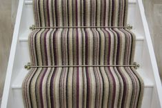 See our exciting wide range of Stair Runners and matching landing pieces from Crucial Trading. House Stairs, Carpet Stairs, Hallway Wallpaper, Wallpaper Ideas, Primitive Kitchen Decor, Flur Design, Hallway Inspiration, Stair Landing, Hallway Designs