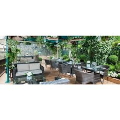 Garden Grill ❤ liked on Polyvore featuring home, outdoors, outdoor decor, garden decor, garden patio decor and outdoor garden decor