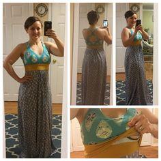 Brazi dress pattern from Stitch Upon A Time with lift-up/pull-up/peekaboo nursing/breastfeeding modification https://www.etsy.com/listing/231466630/brazi-ladies-bra-and-dress-pdf-sewing