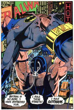 Bane breaks Batman's back in Knightfall: the inspiration for The Dark Knight Rises.
