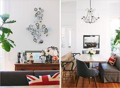 Interior Designer, Soledad Alzaga - comfy cozy chair seating arrangement around a table