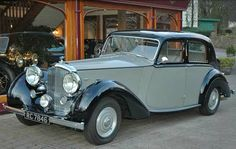 1939 Four-door Saloon by Park Ward (chassis 1R1)