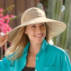 Women s Cotton Sun Hat - Solumbra  All Day 100+ SPF Sun Protective Clothing  - 63b4ec908ab
