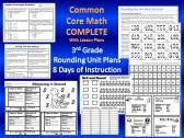 3rd Grade Common Core Rounding Unit- 8 Days of Lesson Plans Plus Attachments product from TeachesThirdinGeorgia on TeachersNotebook.com