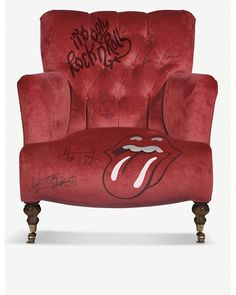 Commissioned by muted suit for Selfridges & Co.  find this in The Rolling Stones pop up shop in London's West End