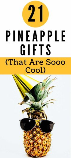 Best Pineapple Gifts | Here's a round-up of the best pineapple home decor, kitchen items, and gift ideas.