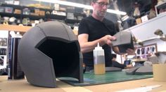 For his E3 costume builds, Frank worked with foam fabricator Evil Ted Smith to make three awesome cosplay helmets. Ted joins us this week to show how he turn...