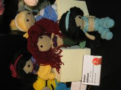 Crocheted Disney Princess Dolls at the OC Fair 2012