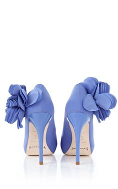 Romance #blue #shoes  Love the colour need blue wedding shoes
