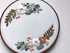 Hand Embroidery Kit Beginner Embroidery Kit DIY Kit Gift for Her Embroidery Patt. Hand Embroidery Kit Beginner Embroidery Kit DIY Kit Gift for Her Embroidery Pattern Embroidery Hoop Floral Embroidery Patterns, Hand Embroidery Patterns, Embroidery Kits, Embroidery Stitches, Vintage Embroidery, Machine Embroidery, Wedding Embroidery, Hungarian Embroidery, Embroidery Jewelry
