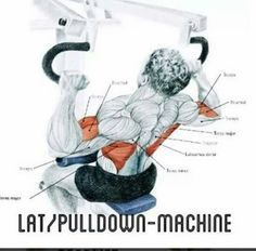Later pull down machine